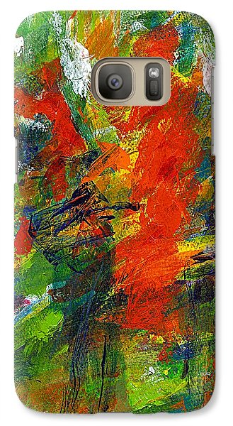 Galaxy Case featuring the painting Don Quichotte 2 by Jan Daniels