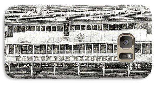 Donald W. Reynolds Razorback Stadium Galaxy Case by JC Findley