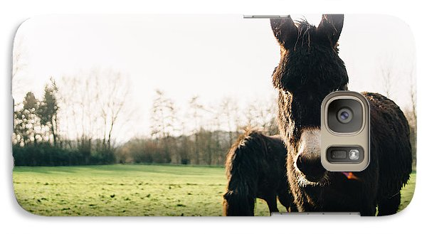 Donkey And Pony Galaxy S7 Case by Pati Photography