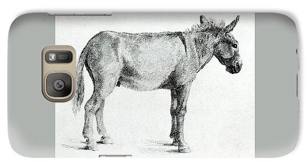 Donkey Galaxy S7 Case by George Stubbs