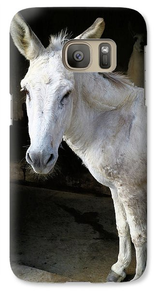 Galaxy Case featuring the photograph Donkey Hellow by Scott Kingery