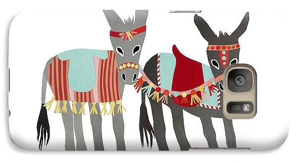 Donkeys Galaxy S7 Case by Isoebl Barber