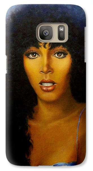 Galaxy Case featuring the painting Donna Summers by Loxi Sibley