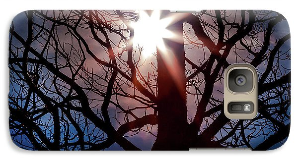 Galaxy Case featuring the photograph Don't Lose Sight Of It All by Karen Wiles