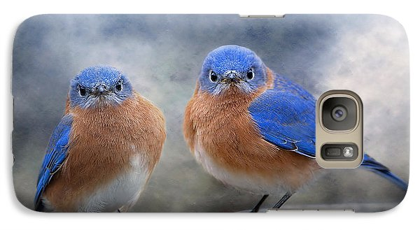 Galaxy Case featuring the photograph Don't Ruffle My Feathers by Bonnie Barry