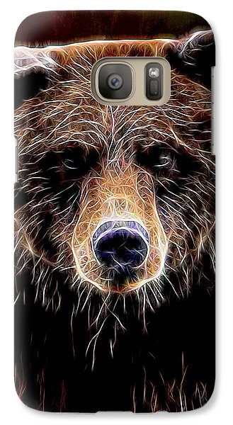 Galaxy Case featuring the digital art Don't Run by Aaron Berg