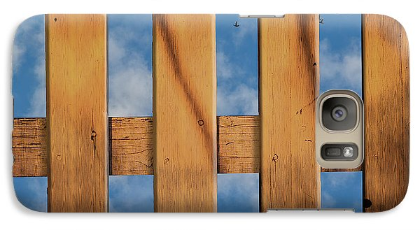 Galaxy Case featuring the photograph Don't Take A Fence by Paul Wear