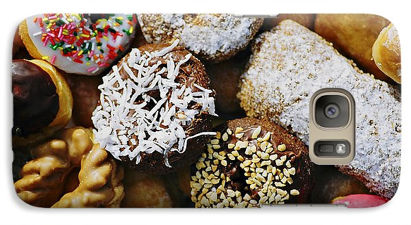 Galaxy Case featuring the photograph Donuts by Vivian Krug Cotton
