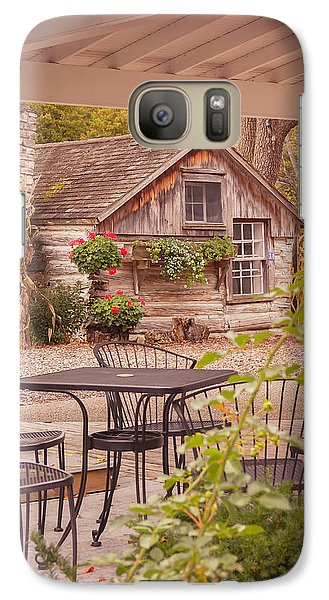 Galaxy Case featuring the photograph Door County Thorp Cottage by Heidi Hermes