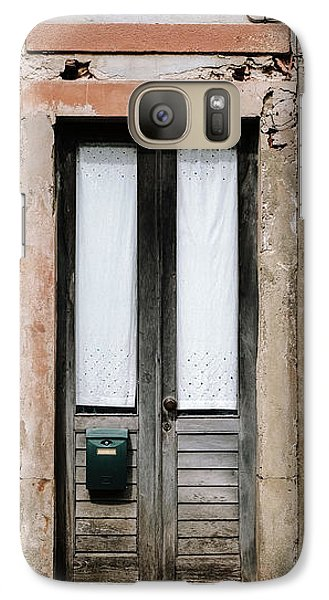 Galaxy Case featuring the photograph Door No 128 by Marco Oliveira