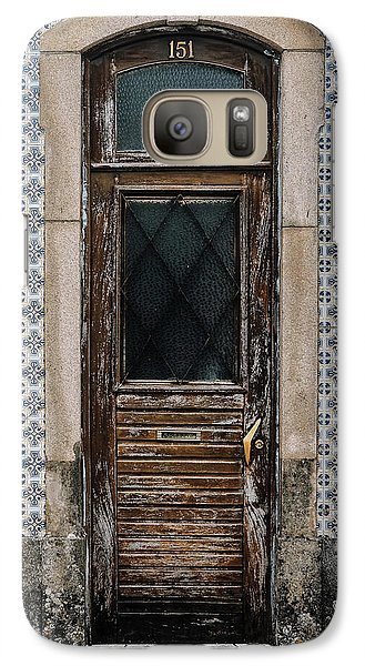 Galaxy Case featuring the photograph Door No 151 by Marco Oliveira
