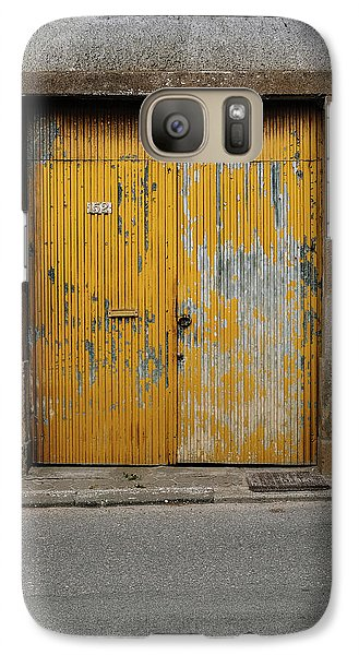 Galaxy Case featuring the photograph Door No 152 by Marco Oliveira