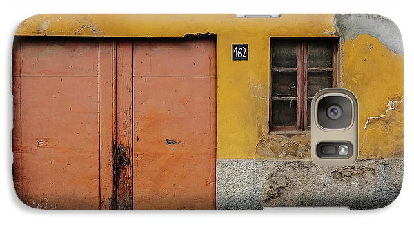 Galaxy Case featuring the photograph Door No 162 by Marco Oliveira
