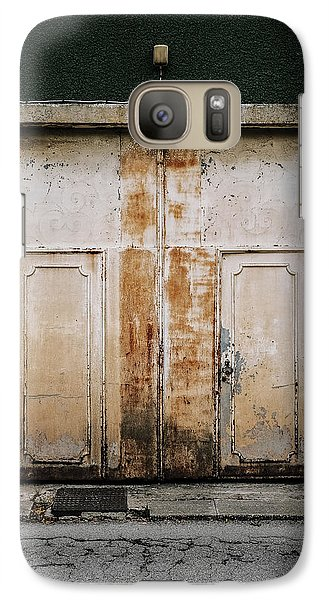 Galaxy Case featuring the photograph Door No 163 by Marco Oliveira