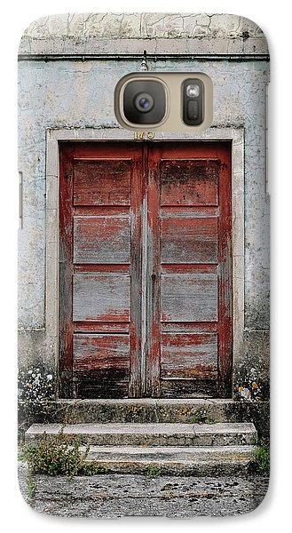 Galaxy Case featuring the photograph Door No 175 by Marco Oliveira