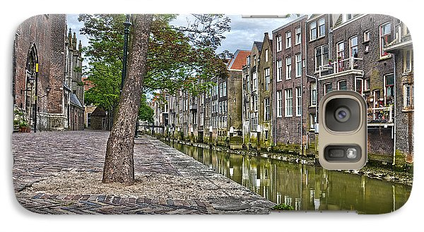 Galaxy Case featuring the photograph Dordrecht Behind The Church by Frans Blok