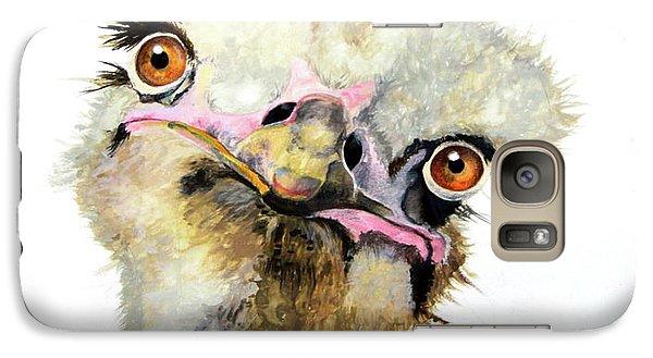 Emu Galaxy S7 Case - Doris by Katharine Schafer