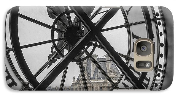 Louvre Galaxy S7 Case - D'orsay Clock Paris by Joan Carroll