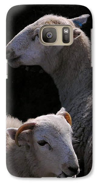 Galaxy Case featuring the photograph Double Portrait by Harry Robertson