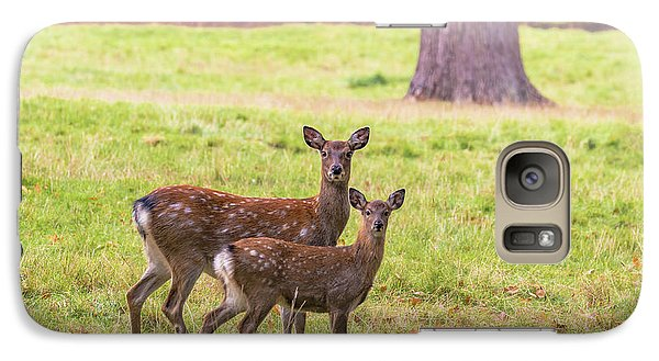 Galaxy Case featuring the photograph Double Take by Scott Carruthers