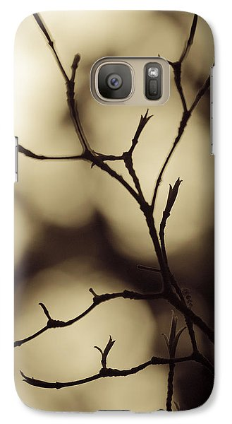 Galaxy Case featuring the photograph Double Vision by Tom Vaughan