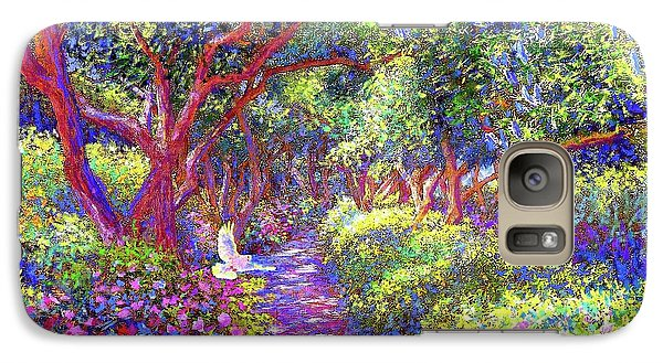 Dove And Healing Garden Galaxy S7 Case