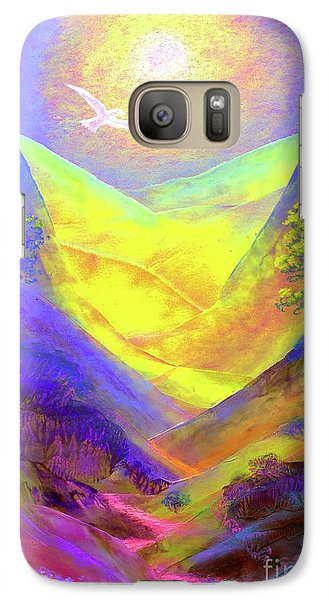 Galaxy Case featuring the painting Dove Valley by Jane Small