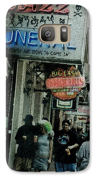 Galaxy Case featuring the digital art Down At The French Quarter by Saad Hasnain