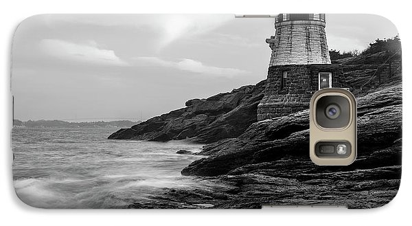 Galaxy Case featuring the photograph Down Below Castle Hill Light by Andrew Pacheco