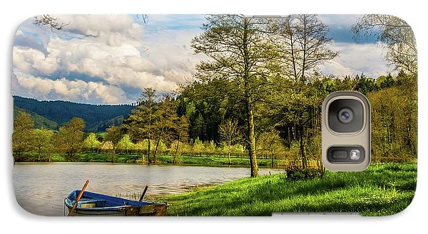 Galaxy Case featuring the photograph Down By The Lake  by David Dehner