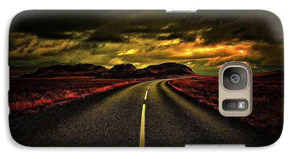 Galaxy Case featuring the photograph Down The Road by Scott Mahon