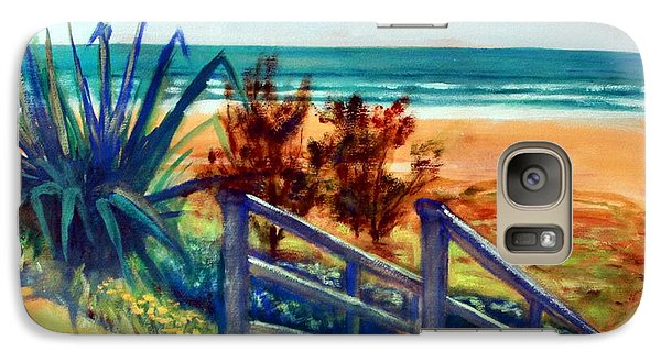 Down The Stairs To The Beach Galaxy S7 Case