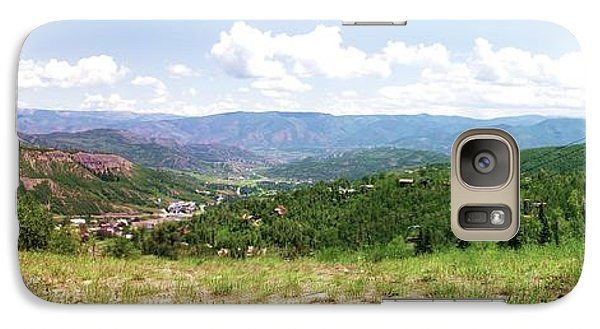 Galaxy Case featuring the photograph Down The Valley At Snowmass #2 by Jerry Battle