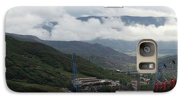Galaxy Case featuring the photograph Down The Valley At Snowmass #3 by Jerry Battle