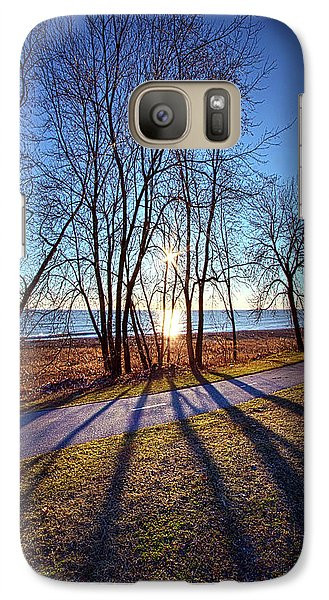 Galaxy Case featuring the photograph Down This Way We Meander by Phil Koch