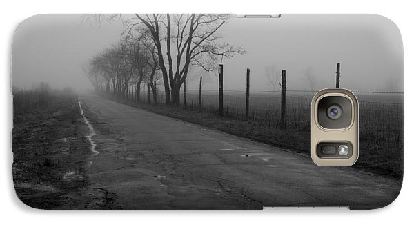 Galaxy Case featuring the photograph Down To The Marsh by Andrew Pacheco