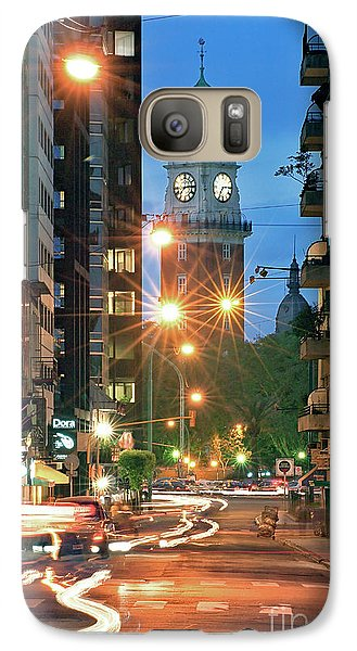 Galaxy Case featuring the photograph Downtown by Bernardo Galmarini