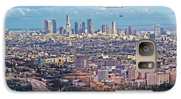 Downtown Los Angeles Galaxy S7 Case by Kim Wilson