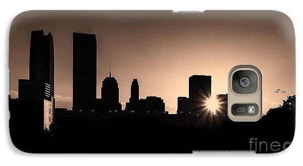 Galaxy Case featuring the photograph Downtown Oklahoma City by Betty LaRue