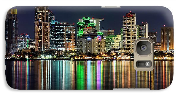 Galaxy Case featuring the photograph Downtown San Diego by Eddie Yerkish