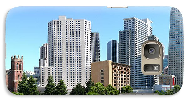Galaxy Case featuring the photograph Downtown San Fransisco by Mike McGlothlen