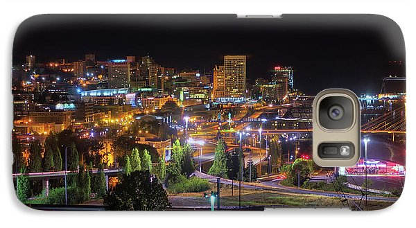 Downtown Tacoma Night Galaxy S7 Case