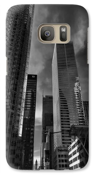 Galaxy Case featuring the photograph Downtown Toronto 005 by Lance Vaughn