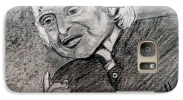 Galaxy Case featuring the painting Dr. Abdul Khalam by Brindha Naveen