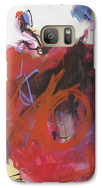 Galaxy Case featuring the painting Dr. Repellent by Robert Joyner
