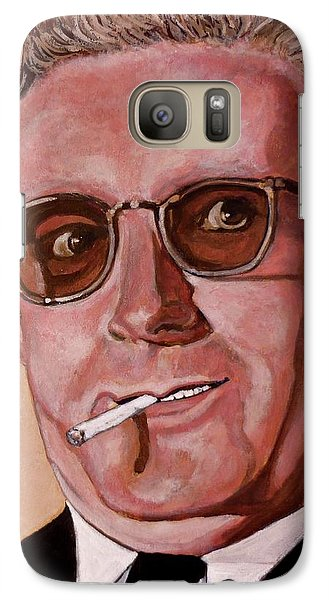 Galaxy Case featuring the painting Dr Strangelove 2 by Tom Roderick