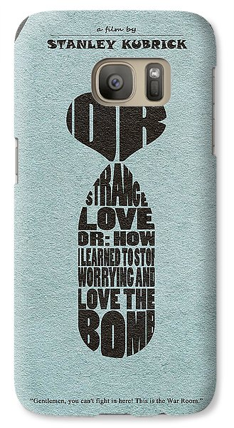 Galaxy Case featuring the digital art Dr. Strangelove Or How I Learned To Stop Worrying And Love The Bomb by Ayse Deniz