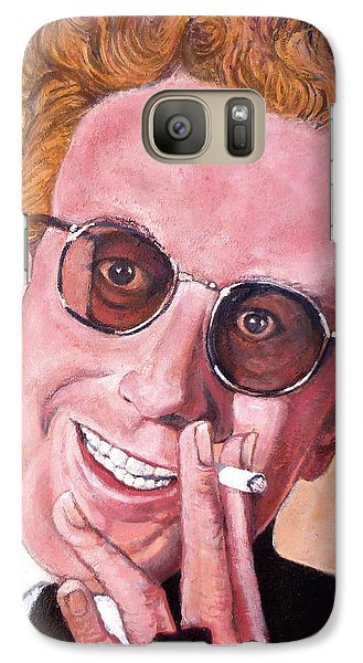 Galaxy Case featuring the painting Dr Strangelove  by Tom Roderick
