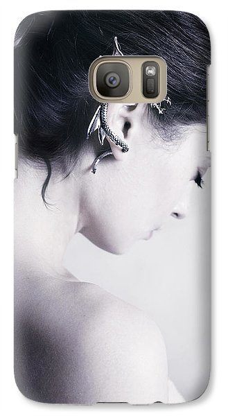 Dragon Galaxy S7 Case - Dragon by Cambion Art