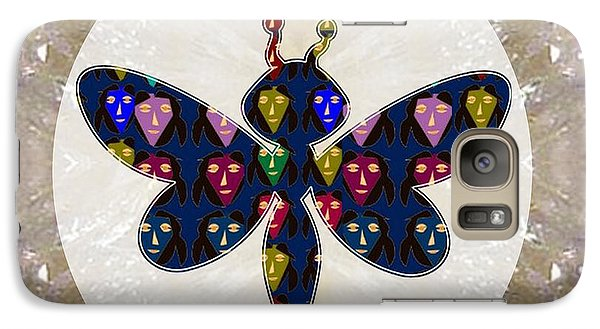 Dragon Fly Cute Painted Face Cartons All Over Donwload Option Link Below Personl N Commercial Uses Galaxy Case by Navin Joshi